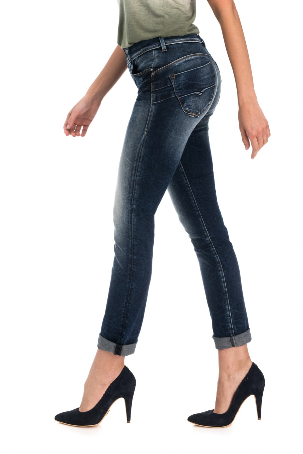 Secret Slim  Dark Denim Premium Wash - Salsa